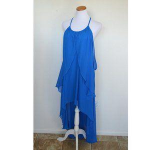 Cache High Low Formal Chiffon Dress NEW